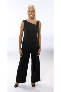 Women's Black Travel Pants