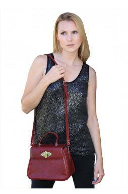 Red Tag-A-Long Purse