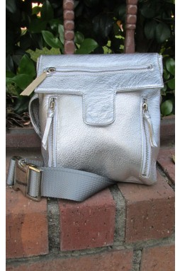 "Silver ""Eve"" Bag"